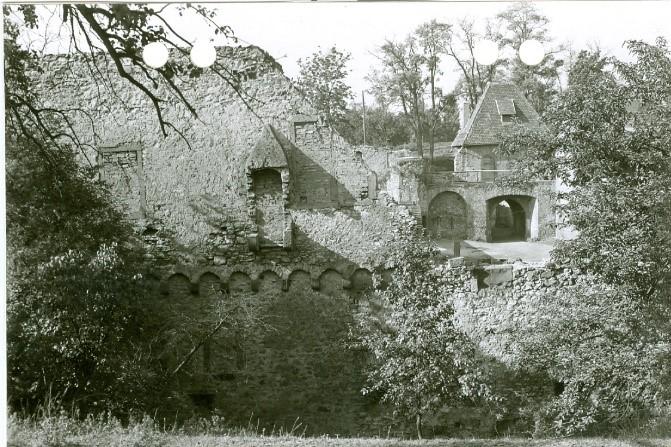 Südflügel 1957